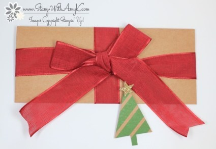 Envelope Punch Board Money Holder - Stamp With Amy K
