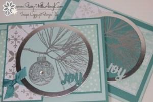 Ornamental Pine 3 - Stamp With Amy K