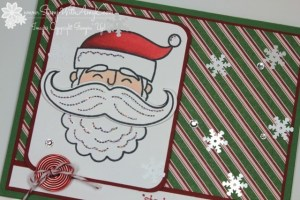 Santa Stache 3 - Stamp With Amy K