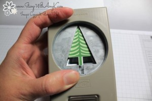 Tree Punch - Stamp With Amy K