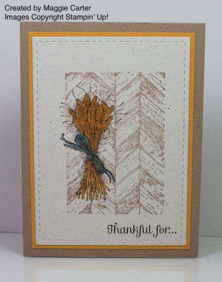 Truly Grateful - Stamp With Amy K