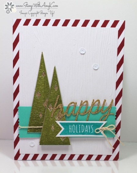 Watercolor Winter Card Kit 1 - Stamp With Amy K