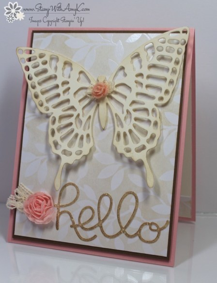 Butterflies Thinlits Dies - Stamp With Amy K