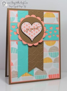 Groovy Love - Stamp With Amy K