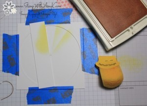 Sunburst Tutorial 1 - Stamp With Amy K