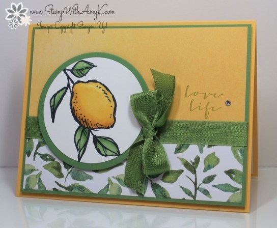 A Happy Thing - Stamp With Amy K