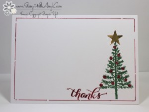 Festival of Trees 2 - Stamp With Amy K