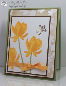 Lotus Blossom 1 - Stamp With Amy K