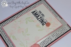 Painted Petal 3 - Stamp With Amy K