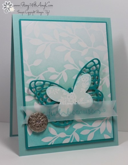 Butterfly Basics - Stamp With Amy K