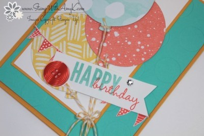Celebrate Today 3 - Stamp With Amy K
