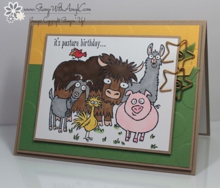 From The Herd - Stamp With Amy K