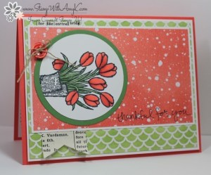 Love Is Kindness 1 - Stamp With Amy K