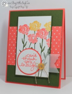Painted Petals 1 - Stamp With Amy K