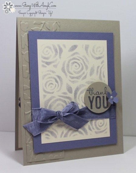 Stampin' Up! - Painted Petals - Stamp With Amy K