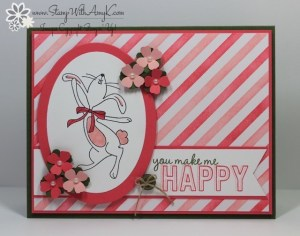 Happy Easter Bunny 2 - Stamp With Amy K