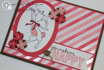 Happy Easter Bunny 3 - Stamp With Amy K