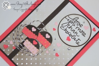 Lovely Amazing You 3 - Stamp With Amy K