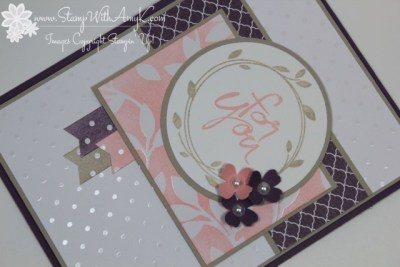 Mother's Love - Stamp With Amy K