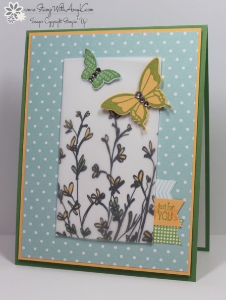Nature's Perfection - Stamp With Amy K