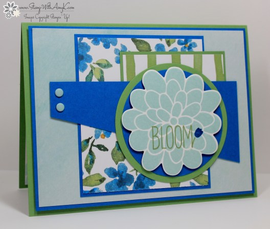 Flower Patch - Stamp With Amy K