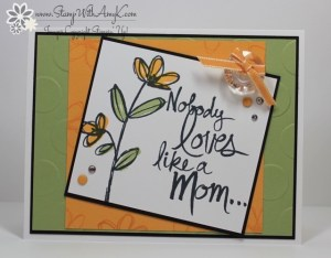 Mother's Love 2 - Stamp With Amy K