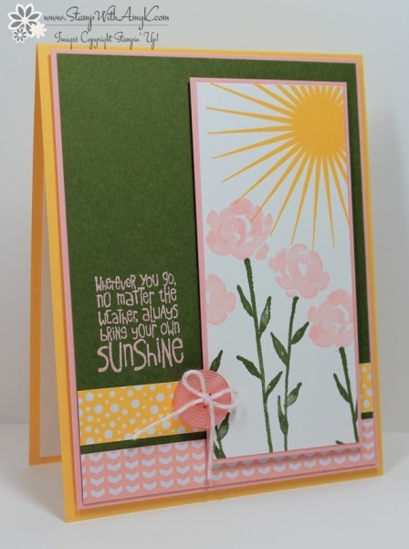 Ray of Sunshine - Stamp With Amy K