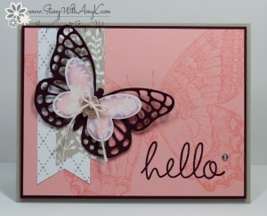 Swallowtail - Stamp With Amy K