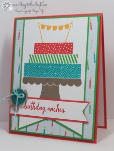 Build a Birthday 2 - Stamp With Amy K