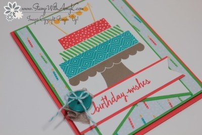 Build a Birthday 3 - Stamp With Amy K