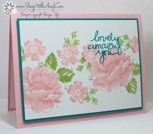 Stippled Blossoms - Stamp With Amy K