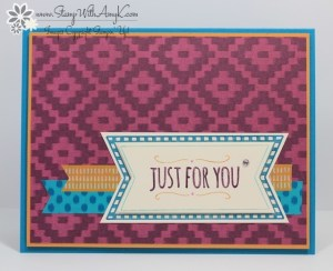 You're So Sweet 1 - Stamp With Amy K