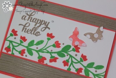 Bountiful Border 3 - Stamp With Amy K
