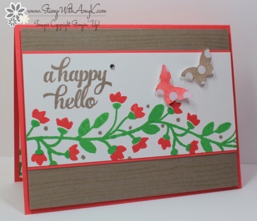 Bountiful Border - Stamp With Amy K