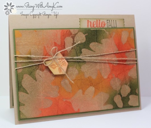 For All Things - Stamp With Amy K