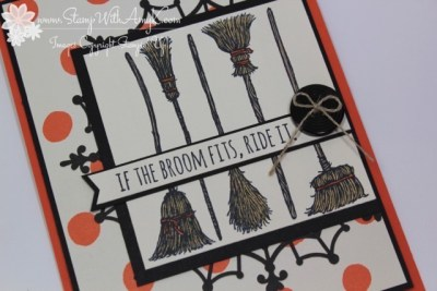 If The Broom Fits 3 - Stamp With Amy K