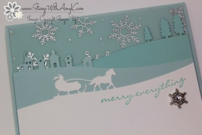 Jingle All The Way 3 - Stamp With Amy K