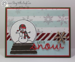 Sparkly Seasons 2 - Stamp With Amy K