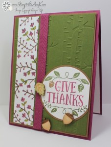 Thankful Forest Friends 1 - Stamp With Amy K