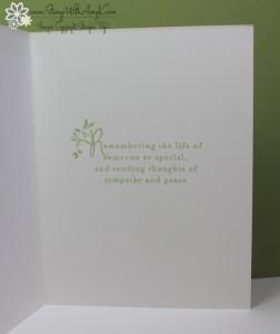 Heartfelt Sympathy - Stamp With Amy K