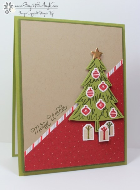 Peaceful Pines - Stamp With Amy K