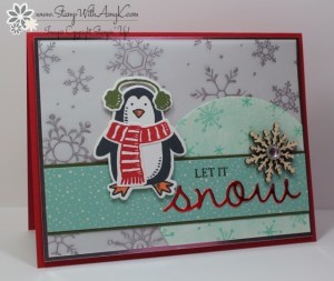Snow Place 1 - Stamp With Amy K
