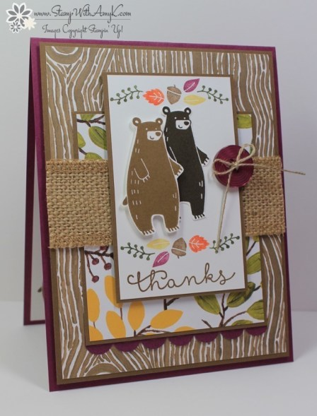 Thankful Forest Friends - Stamp With Amy K