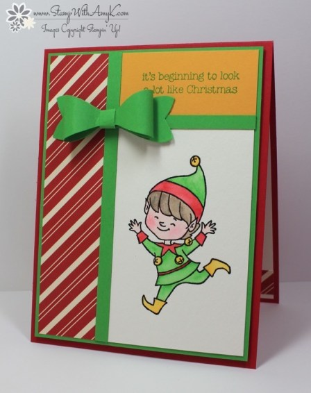 Christmas Cuties - Stamp With Amy K