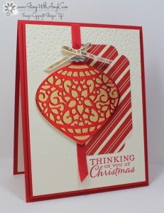 Embellished Ornaments 1 - Stamp With Amy K