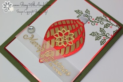 Embellished Ornaments 3 - Stamp With Amy K