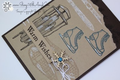 Winter Wishes 3 - Stamp With Amy K