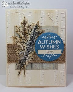 Among the Branches 2 - Stamp With Amy K