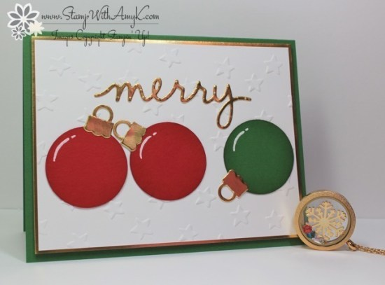 Christmas Greetings Thinlits Dies - Stamp With Amy K