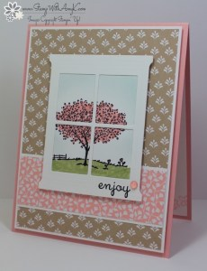 Happy Home 1 - Stamp With Amy K